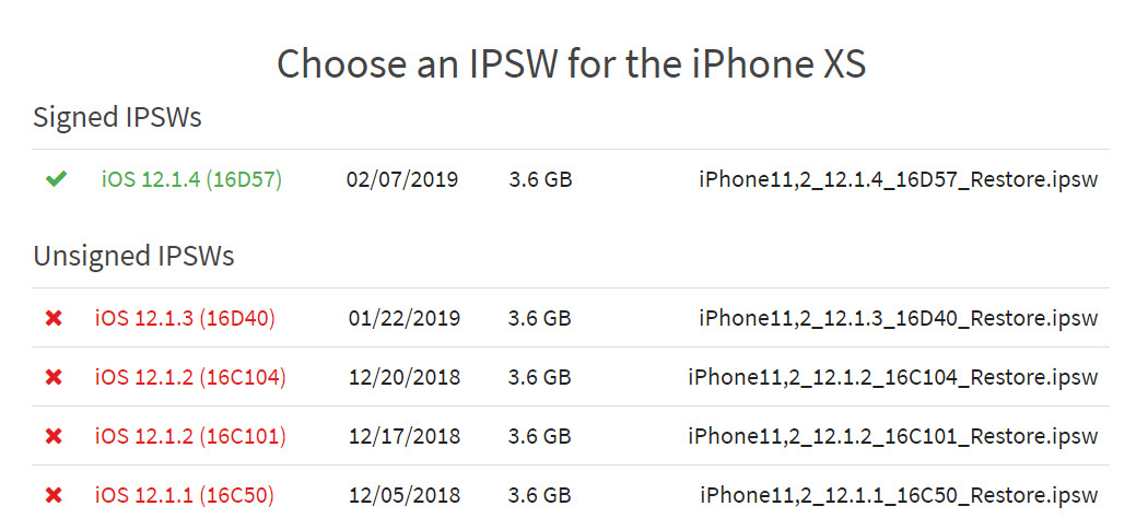 Apple Stop Signing Ios 12 1 3 Img 1