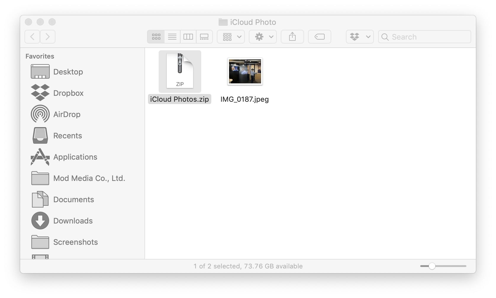 Downloading Multiple Photo Video From Icloud 02