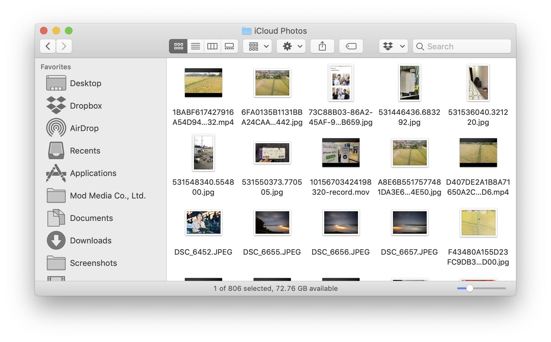 Downloading Multiple Photo Video From Icloud 03