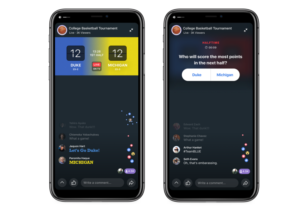 Facebook Annouce Live Tv On Watch Party And Integration With Spotify 1