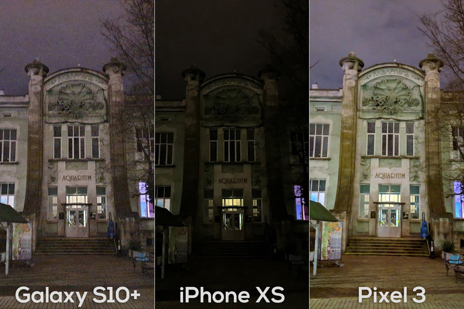 Galaxy S10 Plus Pixel 3 Iphone Xs Max Night Mode Photo Compare Img 1