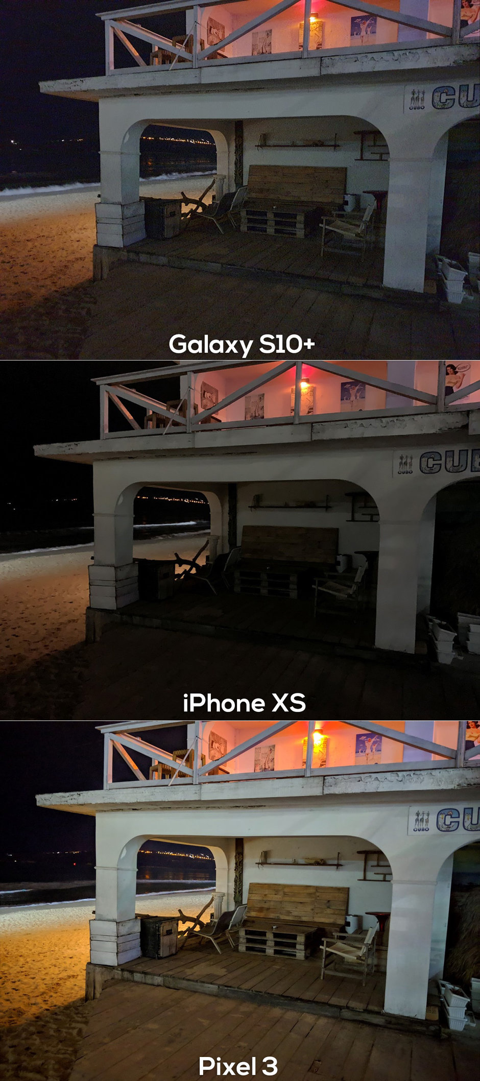 Galaxy S10 Plus Pixel 3 Iphone Xs Max Night Mode Photo Compare Img 4