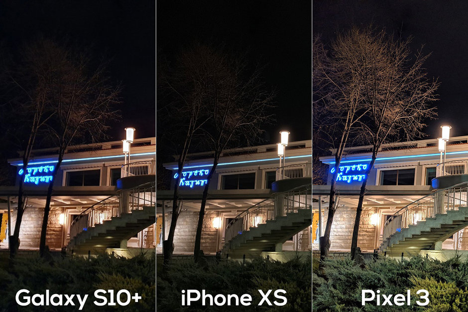 Galaxy S10 Plus Pixel 3 Iphone Xs Max Night Mode Photo Compare Img 6
