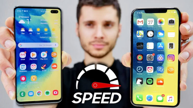 Galaxy S10 Plus Vs Iphone Xs Max Speed Test