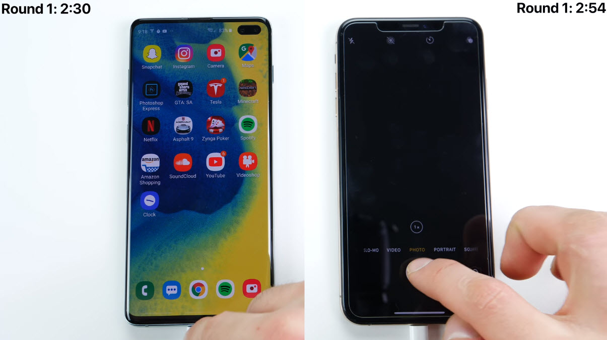Galaxy S10 Plus Vs Iphone Xs Max Speed Test Img 2