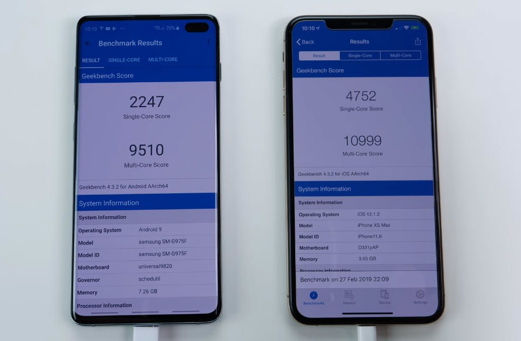 Galaxy S10 Plus Vs Iphone Xs Max Speed Test Img 5
