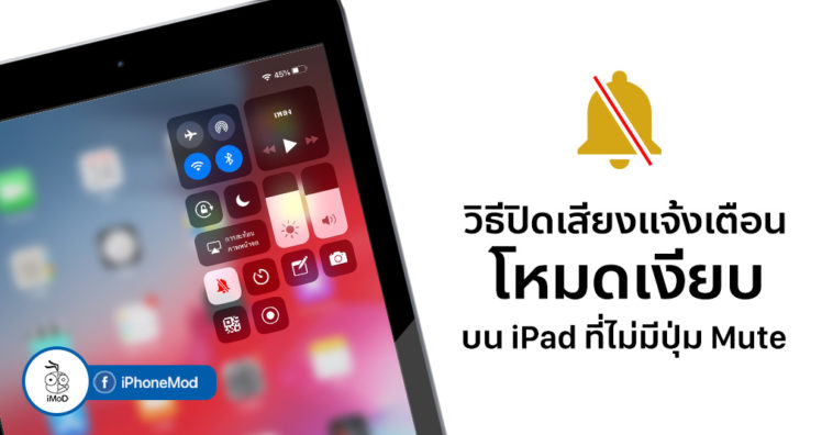 How To Mute Silent Mode On Ipad Cover