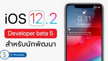 Ios 12 2 Developer Beta 5 Seed