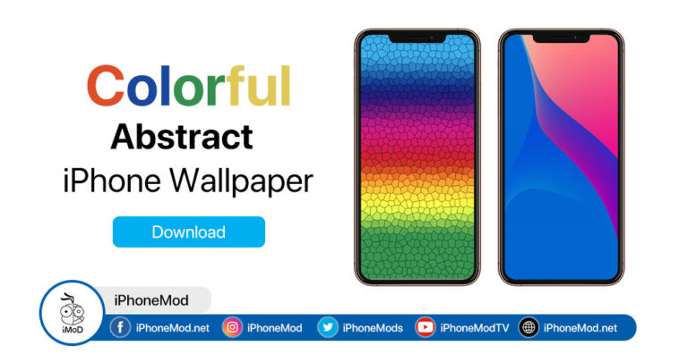 Iphone Wallpaper Colorful Abstract
