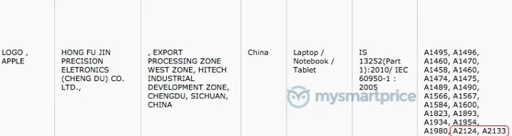 New Ipads Filed In Indian Database Img 1