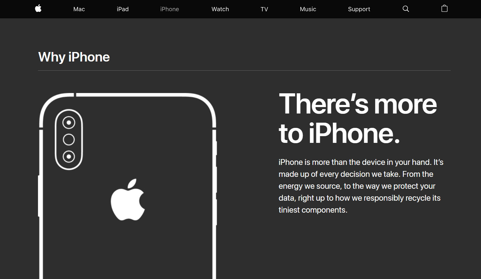 Theres More To Iphone Three New Uk Ad Video Img 1