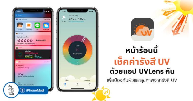 Uvlens App For Check Uv Idex Iphone Ipad