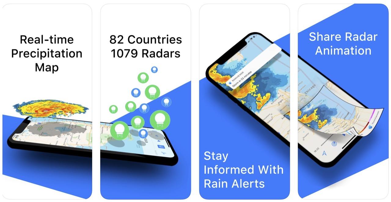 Rainviewer Weather Radar Screenshort