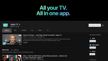 Apple Debut Apple Tv Youtube Channel