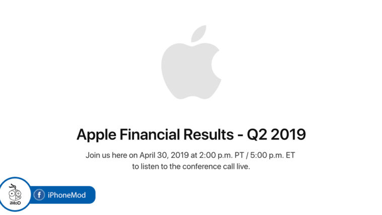 Apple Earning Q2 2019
