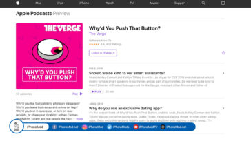Apple Podcasts Directly On The Website