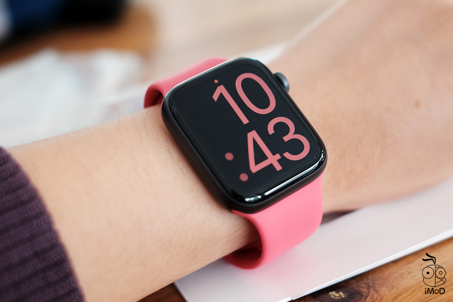 Apple Watch Sport Band Hibiscus Color Preview 14