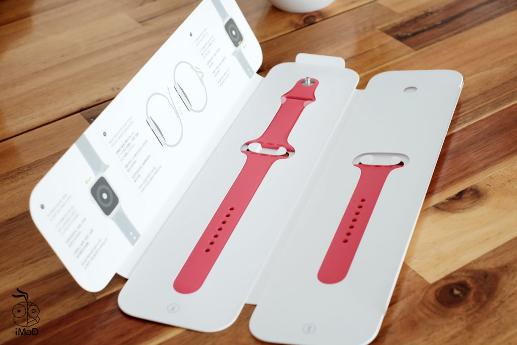 Apple Watch Sport Band Hibiscus Color Preview 5