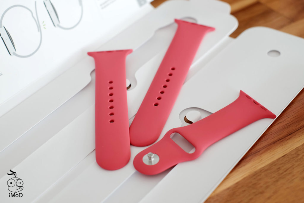 Apple Watch Sport Band Hibiscus Color Preview 6