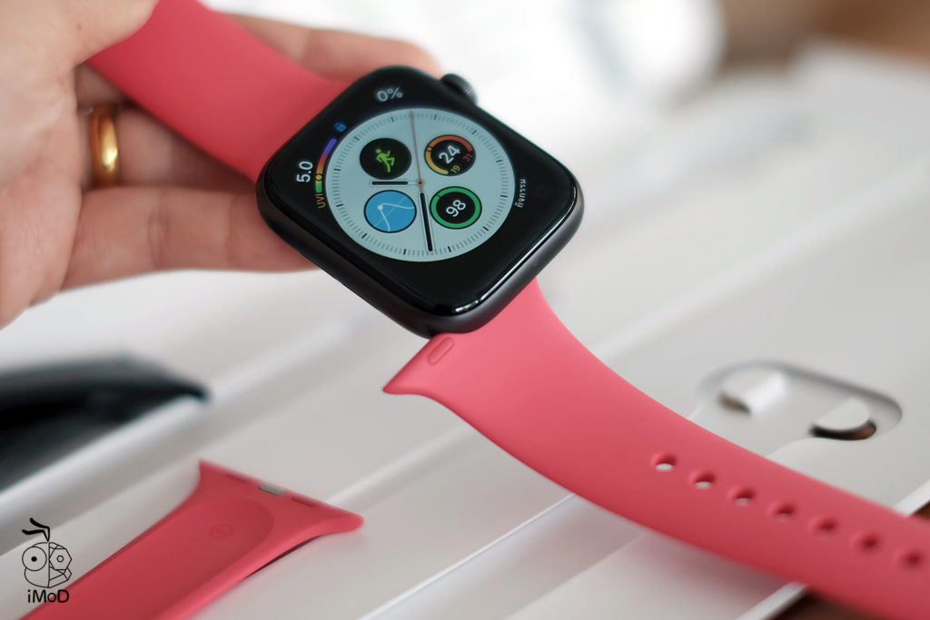 Apple Watch Sport Band Hibiscus Color Preview 8