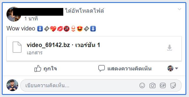 Facebook Video Post Spam Img 1