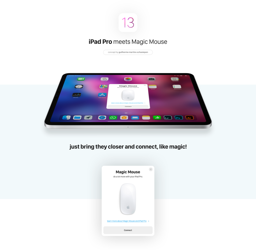 Ios 13 Concept Support Mous Bluetooth 2