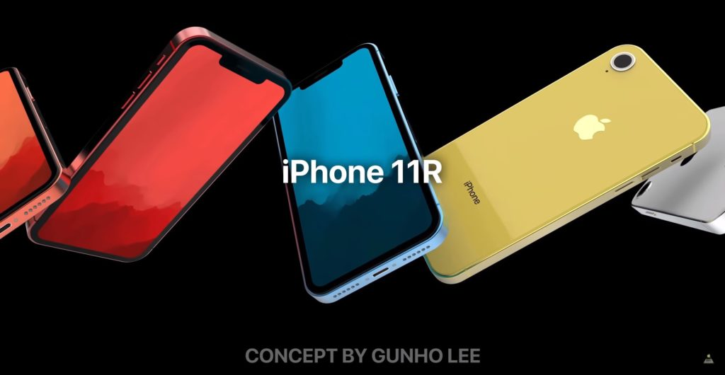 Iphone 11 11 R Ios 13 Concept By Gunho Lee 3