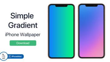 Iphone Wallpaper Simple Gradient Cover