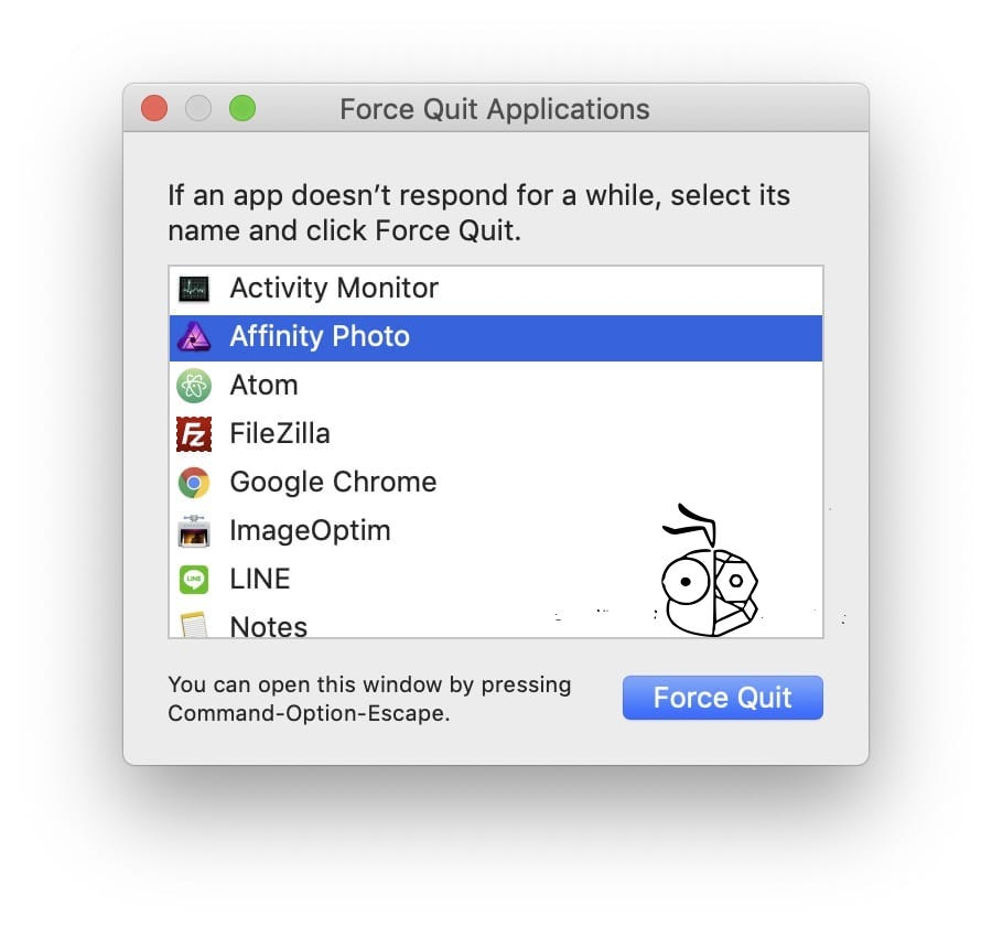 Macos Force Quit Applications Windows