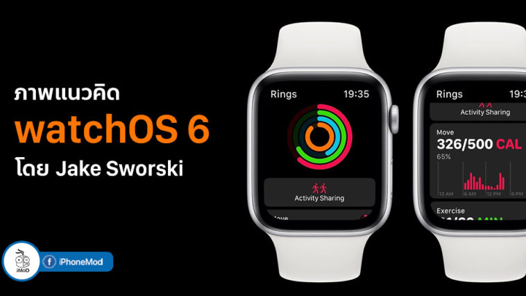 Watchos 6 Concept By Jake Sworski