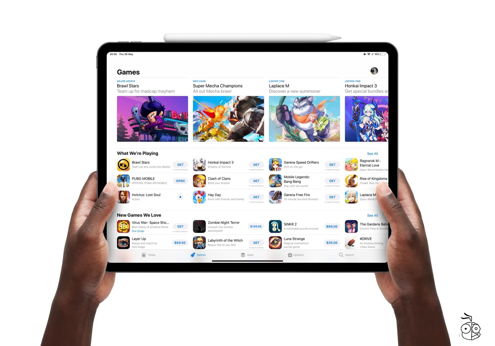 App Store Ipad Game Section