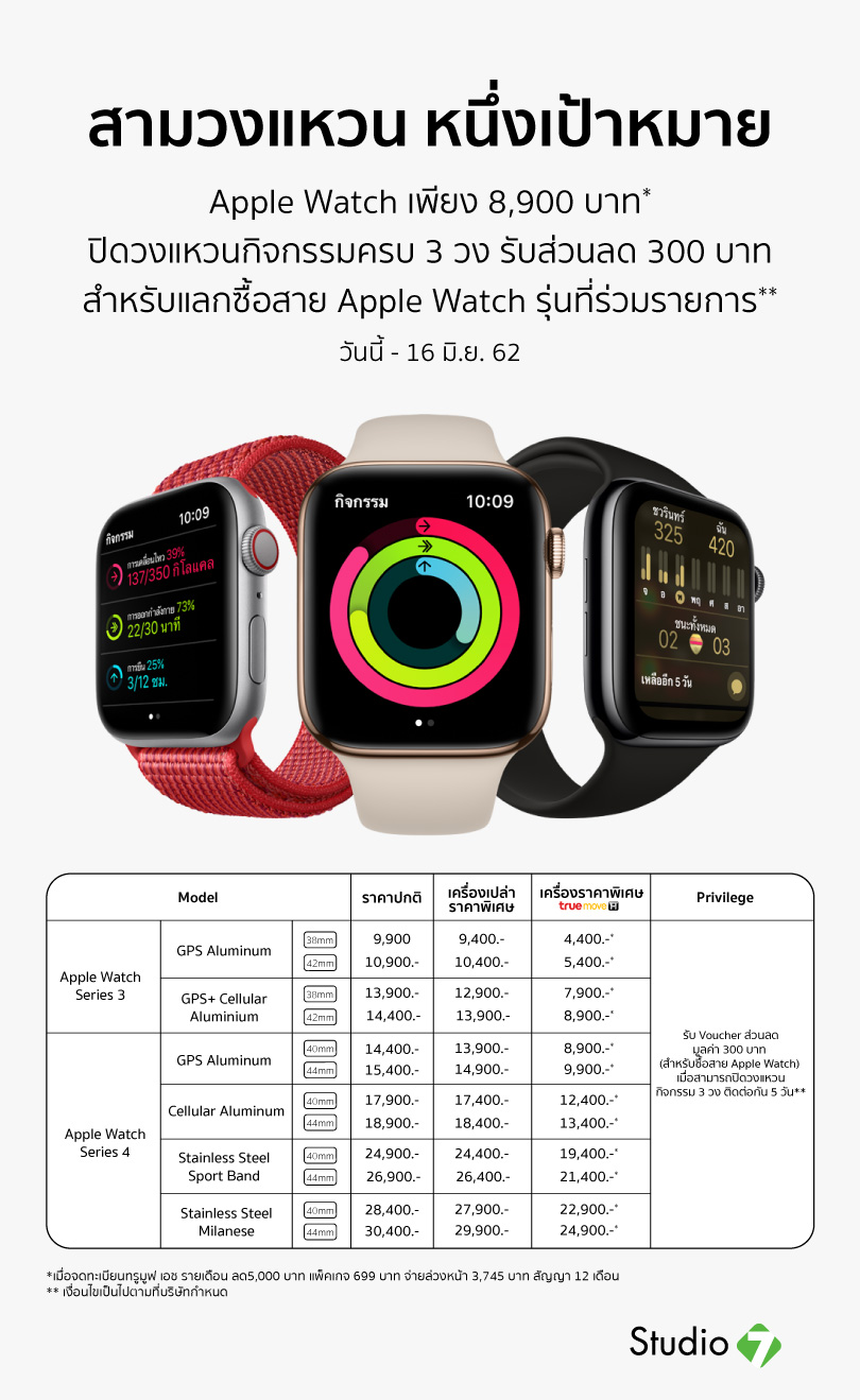 Studio7 Promotion Apple Watch Series 4 May19 Img 2