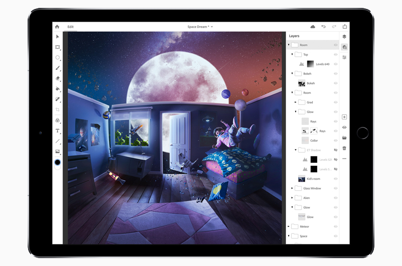 Adobe Open Register Photoshop For Ipad Beta 1