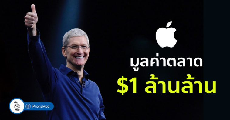 Apple Hits 1 Trillion Dollar Market Caps