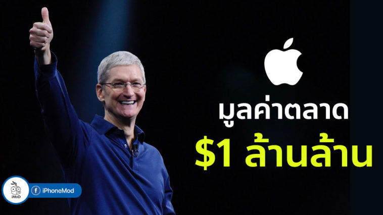 Apple Hits 1 Trillion Dollar Market Caps