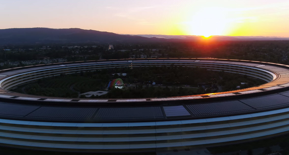 Apple Park Drone May 2019 Img 4