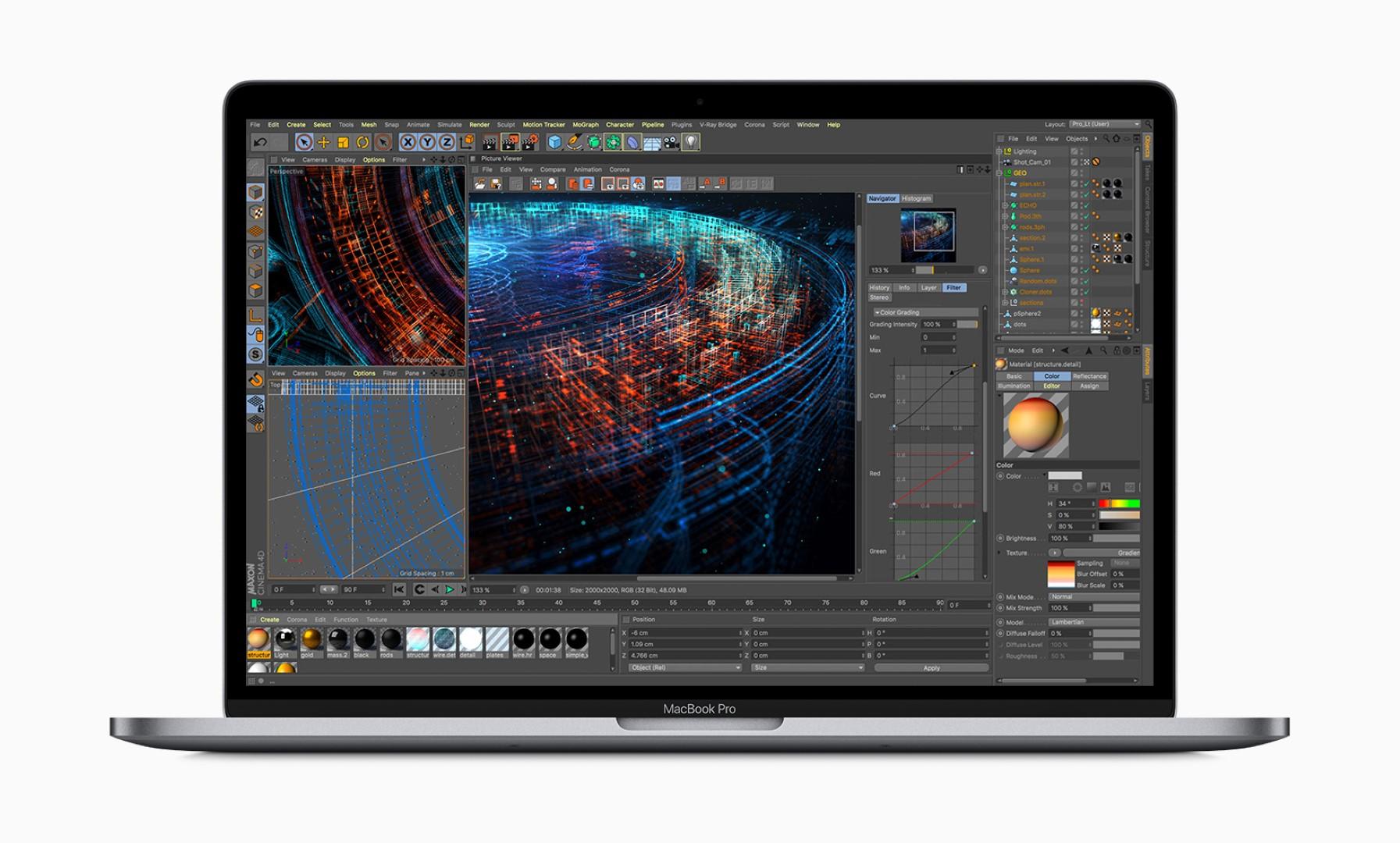Apple Macbookpro 8 Core 3d Graphics 05212019