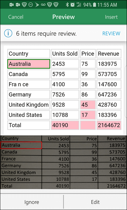 Excel Mobile Insert Data From Picture 3