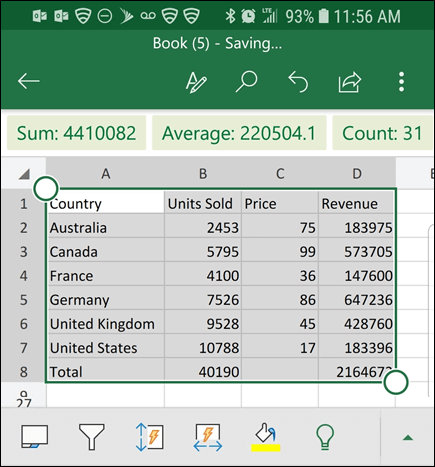 Excel Mobile Insert Data From Picture 4