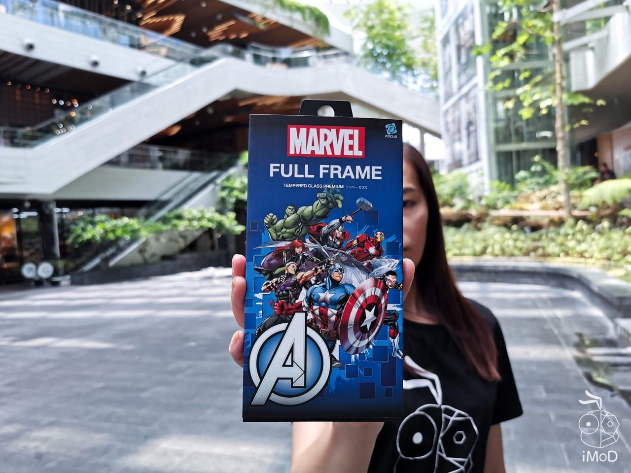 Focus The Avengers Tempered Glass Hd 130326