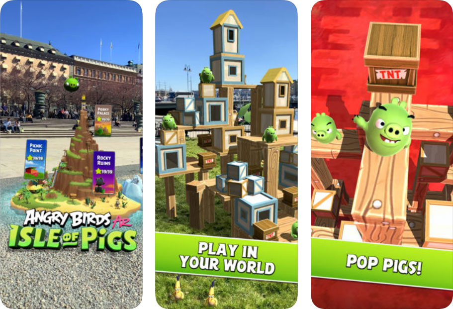 Game Angry Birds Ar Content1