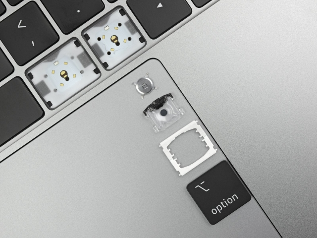 Ifixit Macbook Pro 2019 Teardown Found New Butterfly Keyboard Img 1