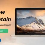 Iphone Mac Wallpaper Snow Mountain