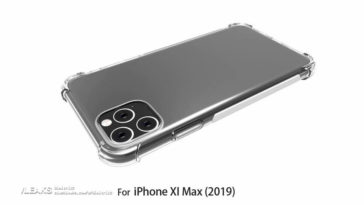 Iphone Xi Max Case Render With Rumors Design