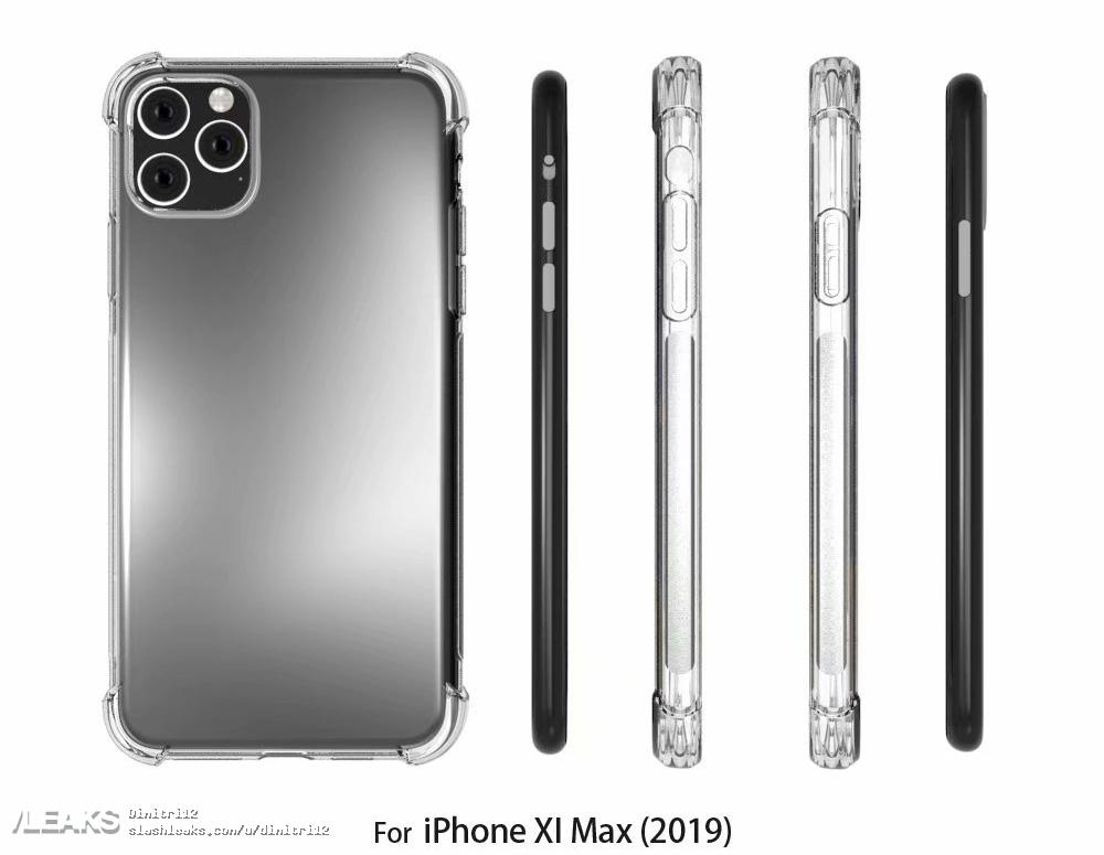 Iphone Xi Max Case Render With Rumors Design Img 1