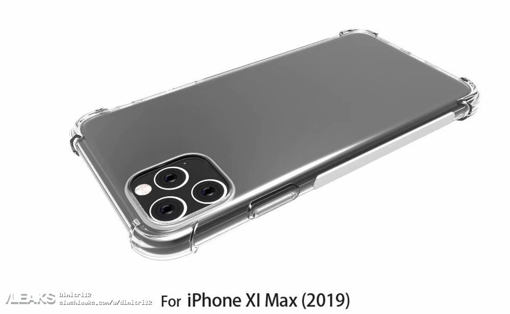 Iphone Xi Max Case Render With Rumors Design Img 2