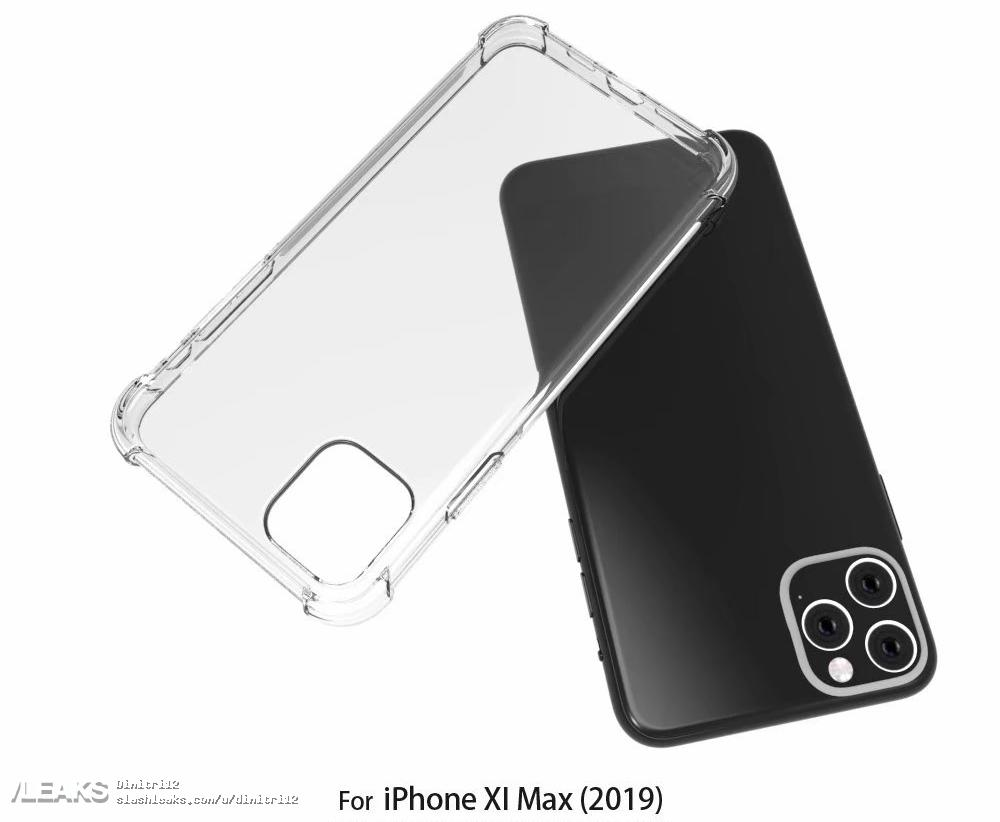 Iphone Xi Max Case Render With Rumors Design Img 3
