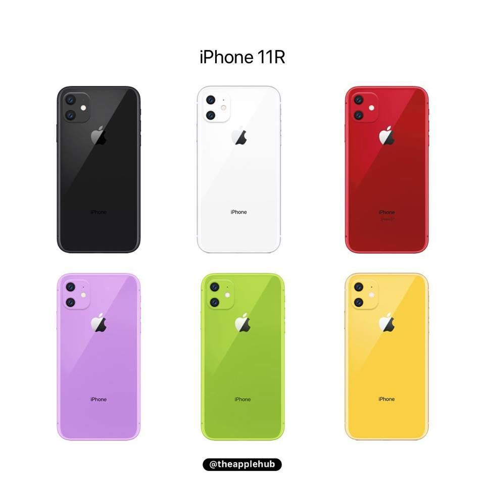 Iphone Xr 2019 New Colors Renders Image Img 1