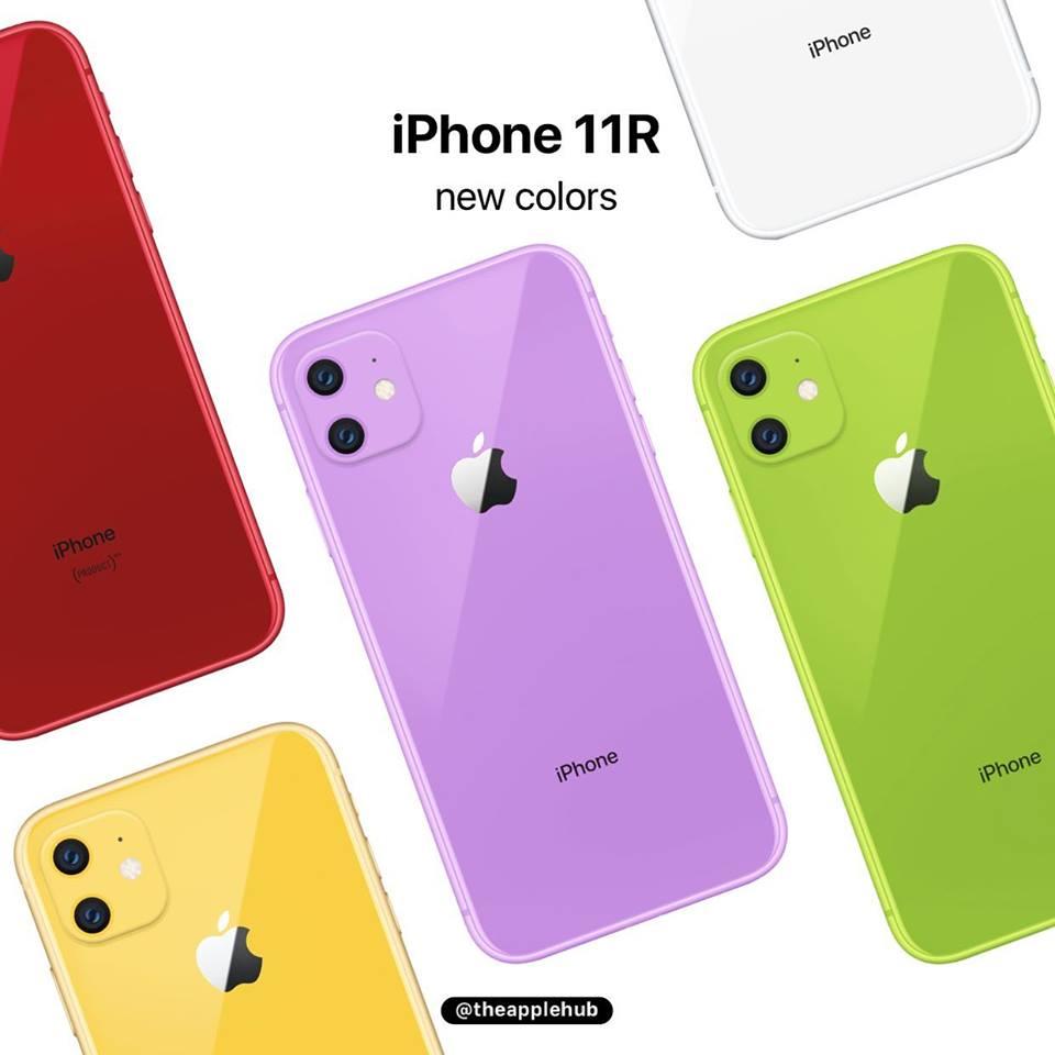 Iphone Xr 2019 New Colors Renders Image Img 3