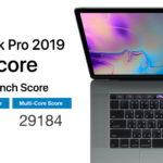 Macbook Pro 2019 8 Core Geekbench Score